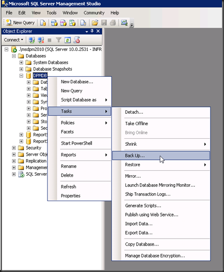 Error Log: How To Access Or Connect To DPM 2010 SQL • Infront