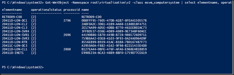 Killing a Hung VM in Task Manager (Another PowerShell