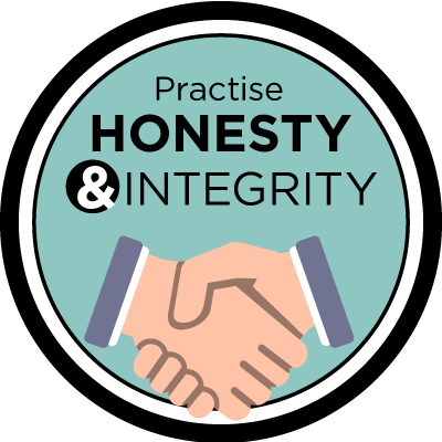 Practise Honesty & Integrity